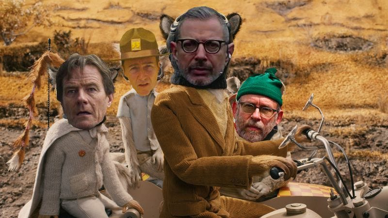 Illustration for article titled Wes Anderson's new stop-motion film to star Jeff Goldblum, Bryan Cranston, more