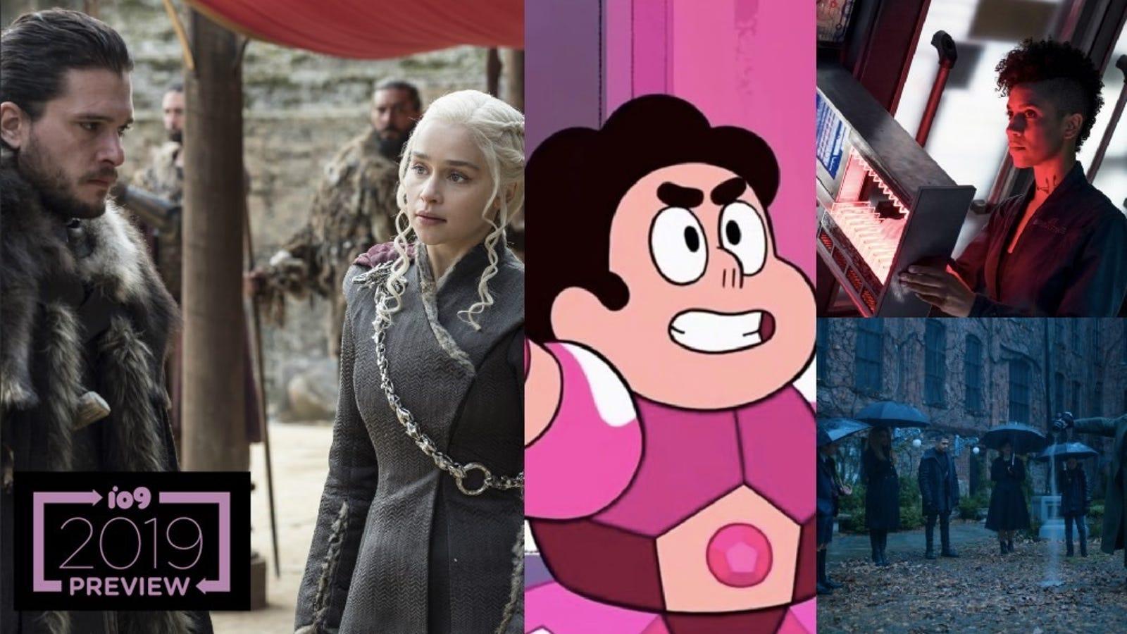 io9's Ultimate Guide to 2019's Sci-Fi, Fantasy, and Superhero TV