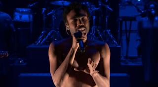 Donald Glover, aka Childish Gambino, on The Tonight Show on Dec. 14, 2016YouTube Screenshot