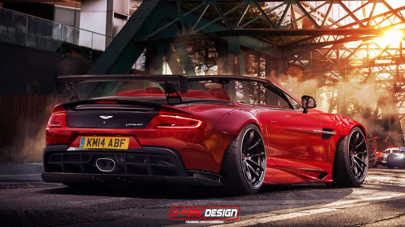 Illustration for article titled JDM Widebody Vanquish Volante