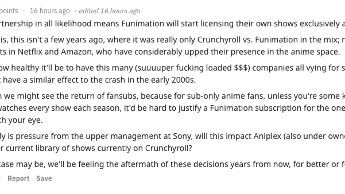 The Internet Reacts To Crunchyroll And Funimation's Break Up