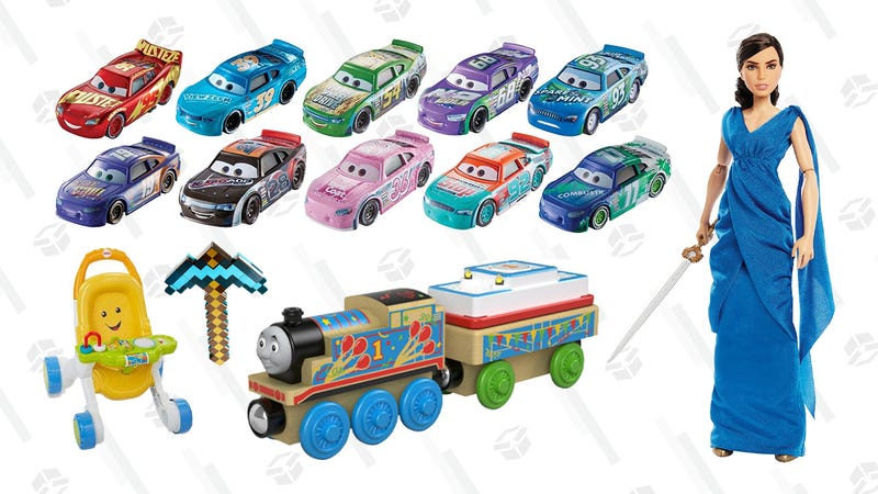 Thomas & Friends, Barbie, and Jurassic World Dinosaur Gold Box | Amazon
