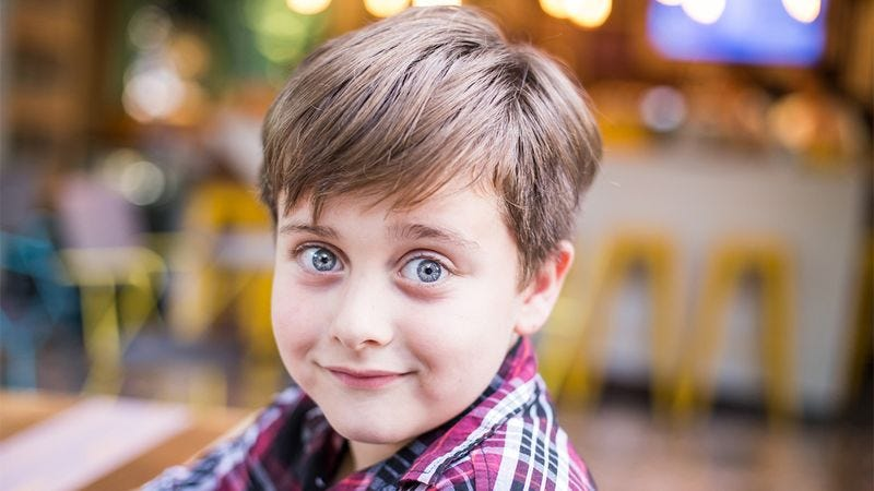 Illustration for article titled The Next Elvis Presley? This 7-Year-Old Boy Has Announced That He Will Die On The Toilet