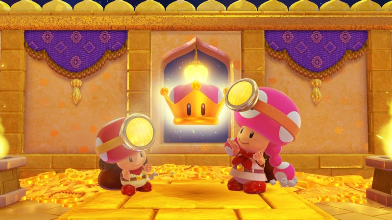 Illustration for article titled Captain Toad: Treasure Tracker's DLC Is A Delightful Mix Of Old And New