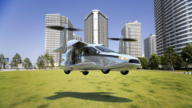 Illustration for article titled Terrafugia's revamped flying car should be ready by 2021. No, really.