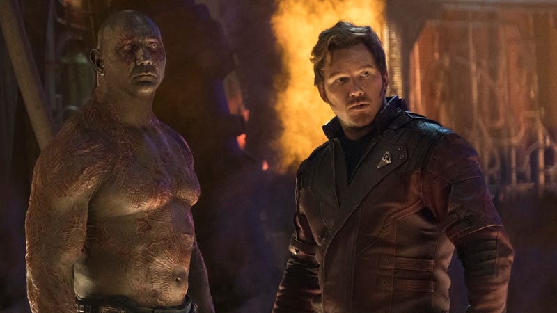 Drax and Peter Quill.
