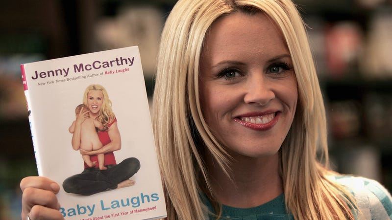 Illustration for article titled Jenny McCarthy Thinks Baby Showers for Men Are 'Embarrassing'