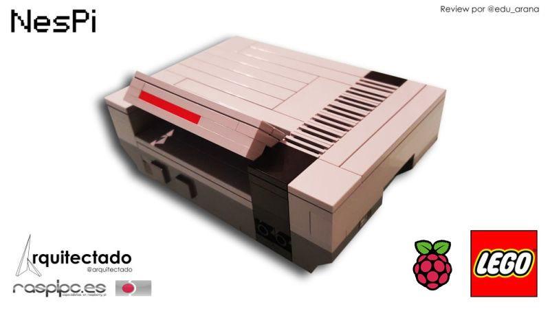 Illustration for article titled NesPI - La caja para la Raspberry PI 2 con forma de Nintendo Nes hecha con piezas de LEGO