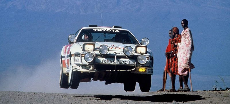 Illustration for article titled The Toyota Supra Rally Car That Time Forgot