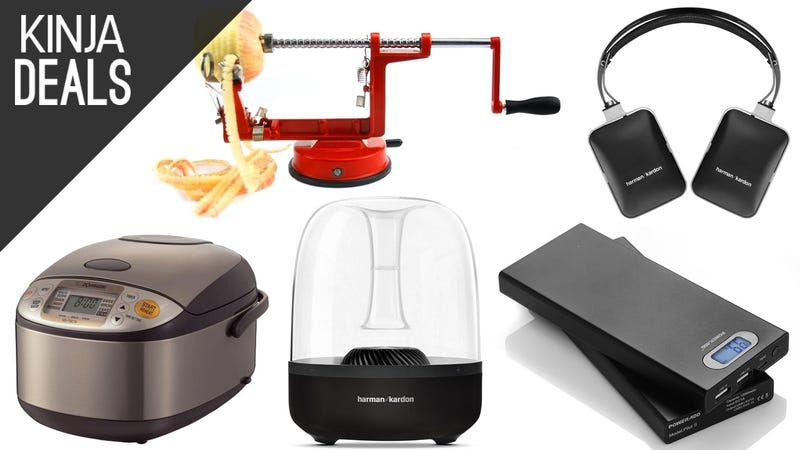 Today's Best Deals: Wireless Audio, iTunes Credit, Perfect Rice, More
