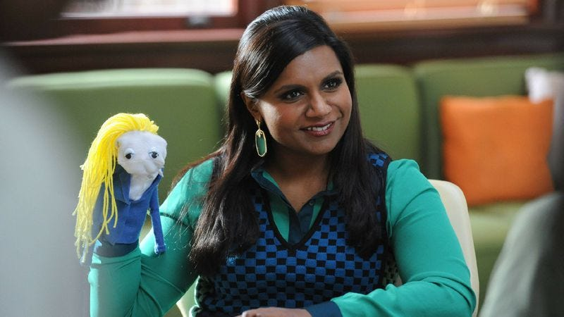 """Illustration for article titled The Mindy Project: """"Mindy's Minute"""""""