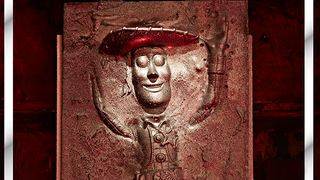 Illustration for article titled Childhood Heroes, encased in Chocolate Carbonite
