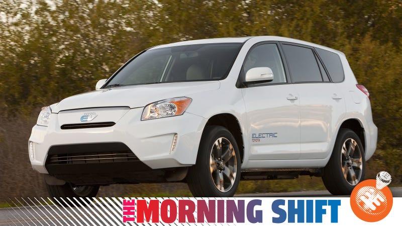 Toyota's RAV4 EV concept from............... 2010. Photo Credit: Toyota