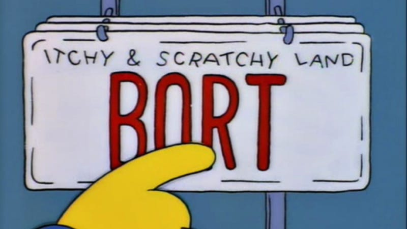 Illustration for article titled We're Out Of Bort License Plates