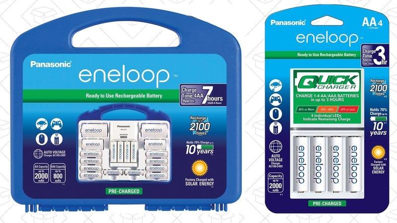Eneloop Power Pack | $35 | AmazonEneloop Advanced 4-Pack AAs | $22 | Amazon