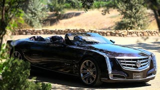 Illustration for article titled Cadillac Ciel is a convertible Sedan de Ville for the 21st Century