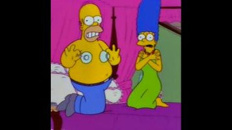 Simpsons sex tegneserie