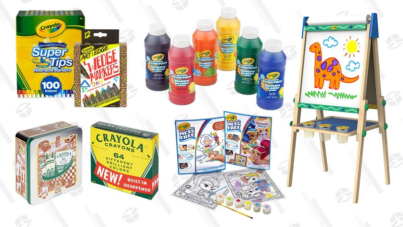 30% on Easter Favorites from Crayola Gold Box | Amazon