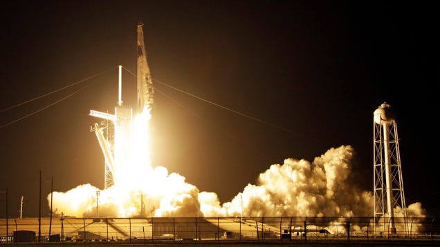 SpaceX and NASA Launch Test Flight of Crew Dragon Capsule to ISS