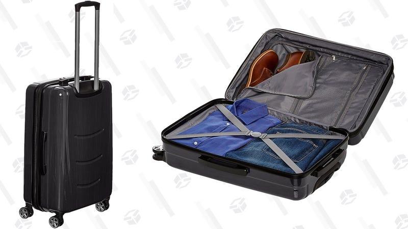 "AmazonBasics Hardshell Spinner 20"" Carry-On | $30 | Amazon"