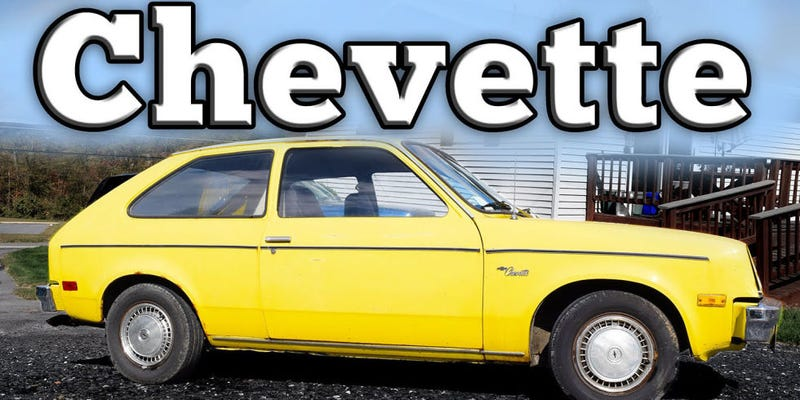 Illustration for article titled You can't spell Chevette without Vette