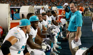 Illustration for article titled Dolphins O-Line Coach Was Aware Of, Participated In Harassment