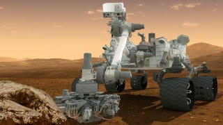 Illustration for article titled Here's how Curiosity will use its laser to search for the ingredients of life on Mars