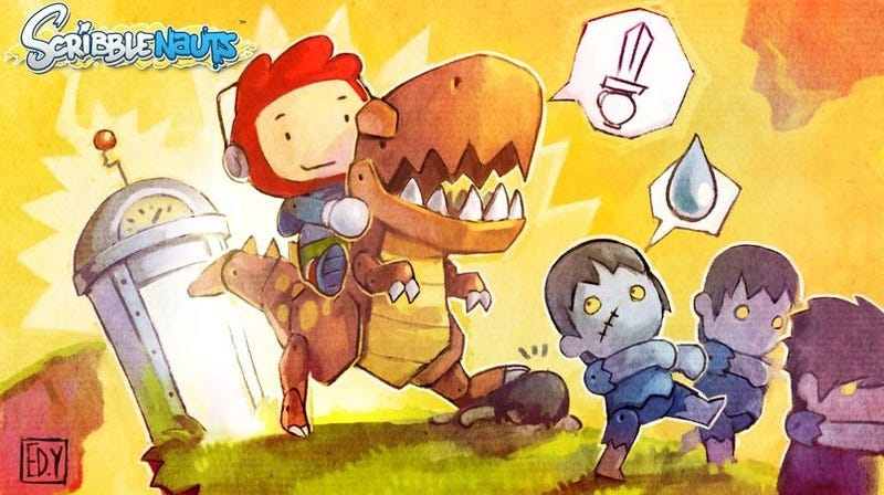 Illustration for article titled Scribblenauts: Game of the Millenium?