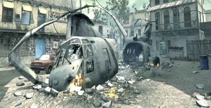 Call of Duty 4 Modern Warfare Multiplayer Maps Secret Spots:Map#1 ...
