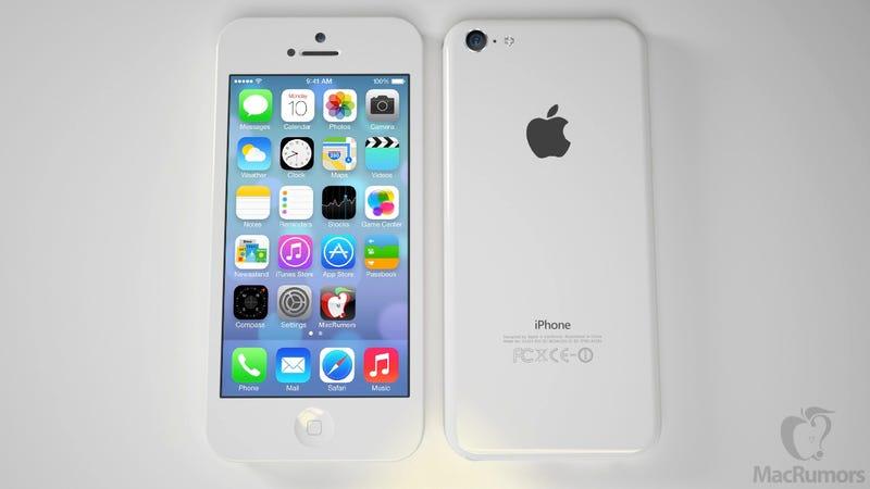 Illustration for article titled Imaginando el iPhone de bajo coste con iOS 7