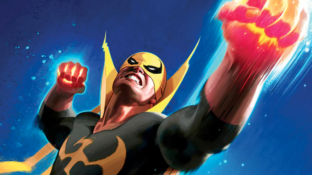 there s going to be a brand new iron fist comic next march