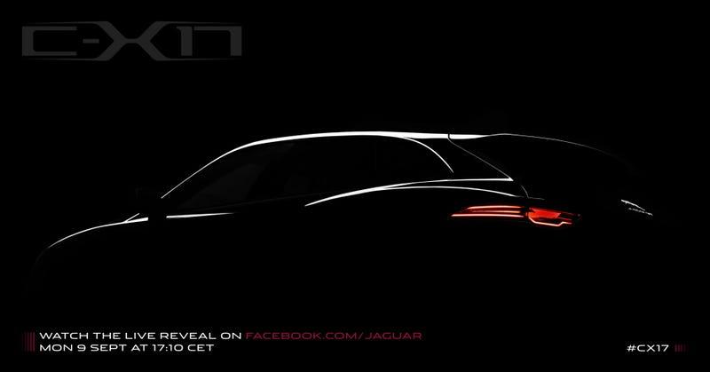 Illustration for article titled Jaguar C-X17: Should Jaguar Build An SUV?