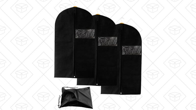 Garment Bags with Shoe Bag, $10 with code AFQ8LBMP