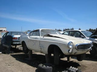 Illustration for article titled Volvo 1800S Joins Its Amazon Brethren At East Bay Junkyard