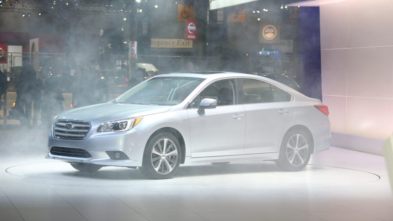 Illustration for article titled The 2015 Subaru Legacy Gets 36 MPG Highway