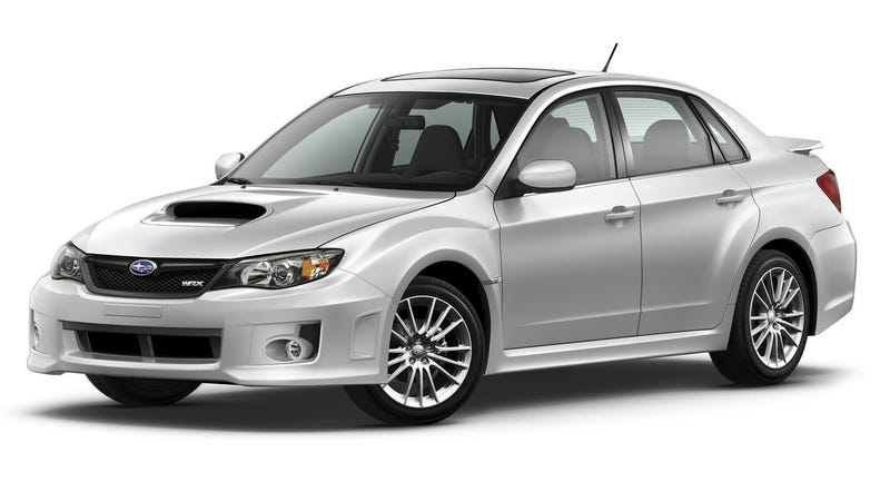 Illustration for article titled 'Never Vaped In' Is How You Must Describe a Clean Used Subaru WRX Now