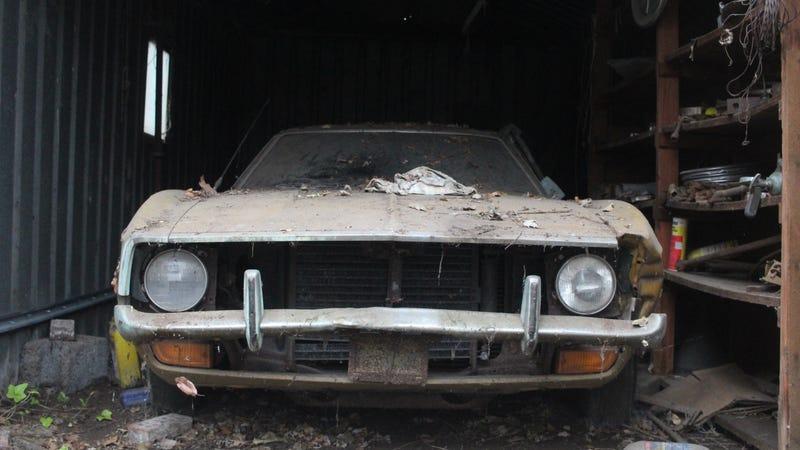 Crazy Uncle Joe's Mustang