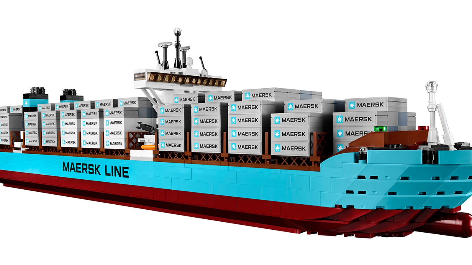 Largest Cargo Ship >> The World S Largest Cargo Ship Is Now Available As A Giant Lego Set
