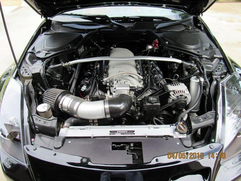 Illustration for article titled Nissan 350z with V-8 conversion for $15k