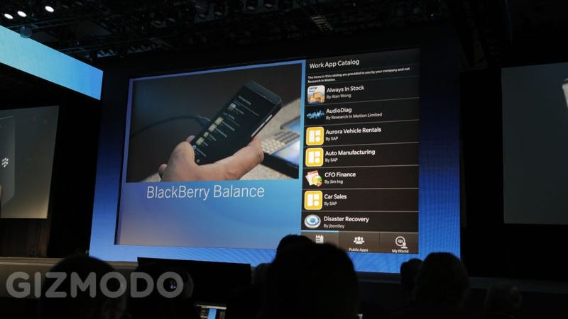Illustration for article titled BlackBerry's Best Trick: Nailing Work-Life Balance