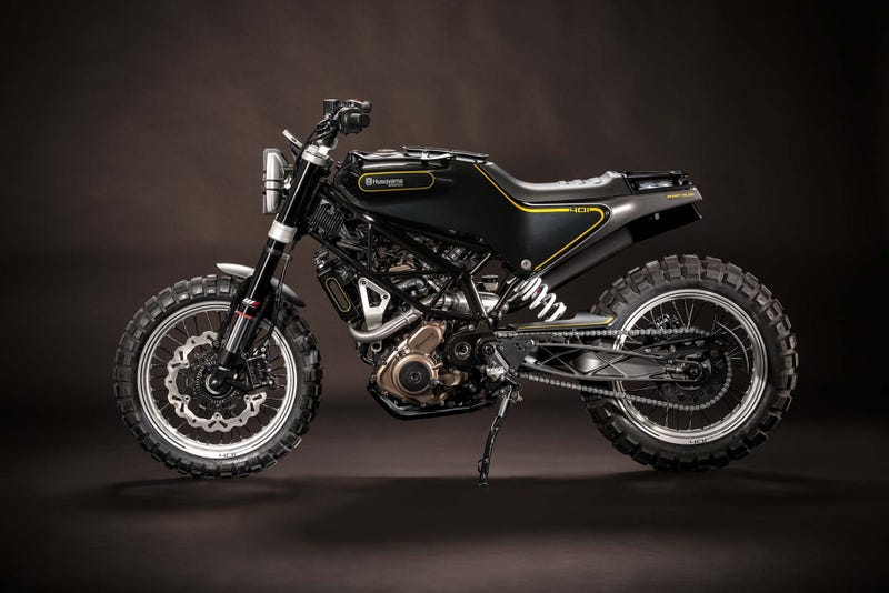 Illustration for article titled The Husqvarna Vitpilen 125 May Be The Closest Thing To The Scrambler Grom We Want