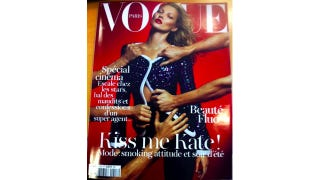 Illustration for article titled Kate Moss Made Emmanuelle Alt's Second-Ever Cover Of Vogue Paris