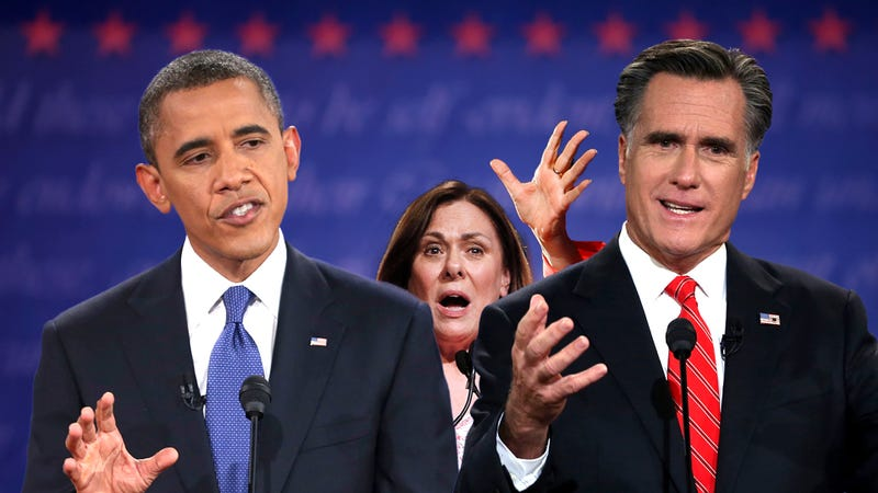 Illustration for article titled Both Campaigns Want Tonight's Female Presidential Debate Moderator to Shut the Hell Up