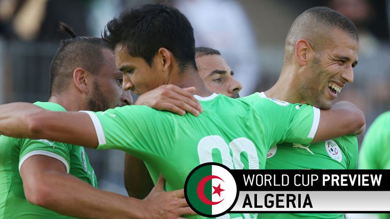 Illustration for article titled Hey, At Least Getting Bashed In Group Play Won't Break Algeria's Heart