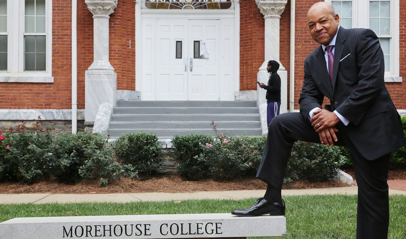 Morehouse College President David A. Thomas (courtesy of Morehouse College)