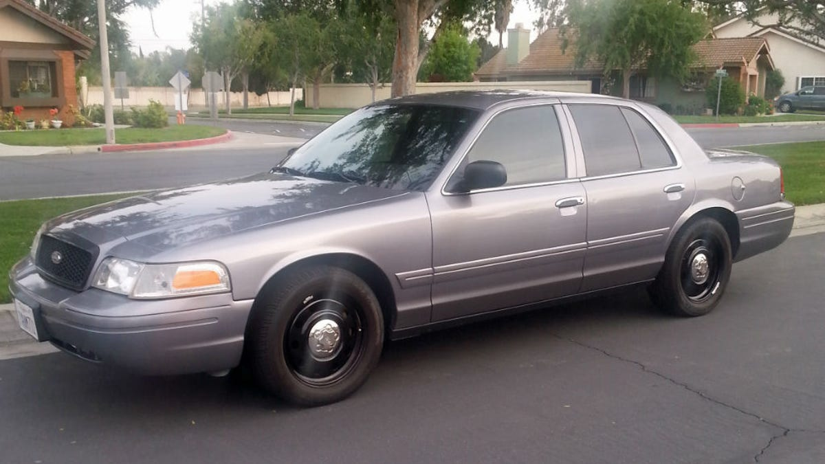 My first v8 american car ford crown victoria
