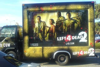 Illustration for article titled $25 Million In Left 4 Dead 2 Ads Gets You At Least Two Trucks