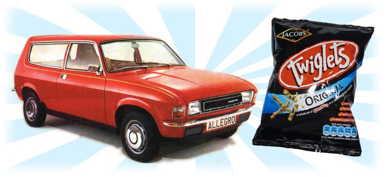 Illustration for article titled If Cars Were Snacks, What Car Would Be What Snack?