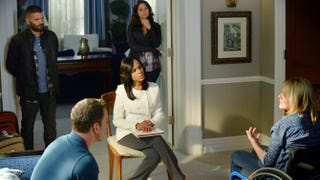 Olivia Pope and her associates, fixing things, in a scene from ScandalEric McCandless/ABC