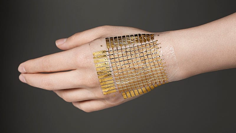 Illustration for article titled This substance will let you turn your skin into a computer